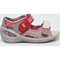 Befado - Sandały dziecięce. Szare sandały chłopięce Befado, z materiału. W wyprzedaży za 49,90 zł.