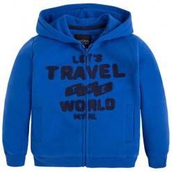 Bluza w kolorze niebieskim. Niebieskie bluzy chłopięce marki Mayoral. W wyprzedaży za 74,95 zł.