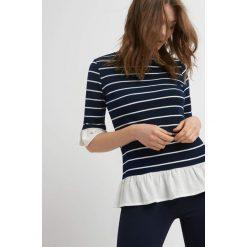 Sweter z koszulą 2-w-1. Brązowe koszule damskie marki Orsay, s, z dzianiny. Za 69,99 zł.
