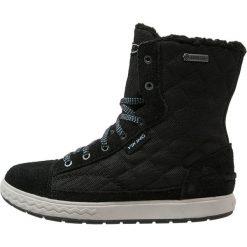 Viking GTX Śniegowce black/grey. Czarne buty zimowe damskie Viking, z kauczuku. W wyprzedaży za 194,50 zł.