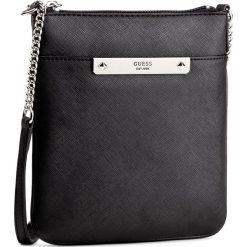Torebka GUESS - Britta (VY) Mini-Bag HWVY66 93700 BLA. Czarne listonoszki damskie Guess, z aplikacjami. W wyprzedaży za 199,00 zł.