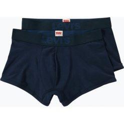 Levi's - Obcisłe bokserki męskie pakowane po 2 szt., niebieski. Niebieskie bokserki męskie marki Levi's®, z bawełny. Za 89,95 zł.