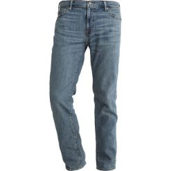 Abercrombie & Fitch Jeansy Slim Fit medium wash. Niebieskie rurki męskie Abercrombie & Fitch. Za 369,00 zł.