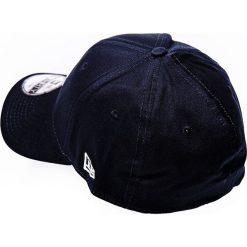 New Era - Czapka 39 Thirty. Czarne czapki z daszkiem męskie marki New Era, z bawełny. W wyprzedaży za 79,90 zł.