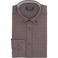 Koszula bexley f2670 długi rękaw custom fit brąz. Czerwone koszule męskie marki Recman, m, z długim rękawem. Za 139,00 zł.