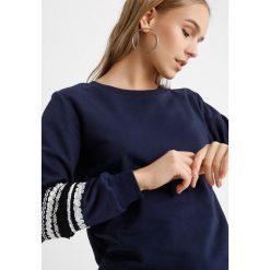 Bluzy rozpinane damskie: Dorothy Perkins Petite TRIM SLEEVE Bluza navy