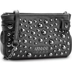 Torebka ARMANI JEANS - 922300 7A816 00020 Nero. Czarne listonoszki damskie marki Armani Jeans, z jeansu. W wyprzedaży za 419,00 zł.