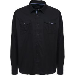 Koszule męskie na spinki: BAD RHINO MILITARY PLUS Koszula black