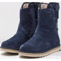 Sorel NEWBIE Śniegowce dunkelblau. Czarne buty zimowe damskie marki Sorel, z materiału. Za 399,00 zł.