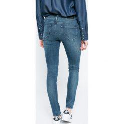 Hilfiger Denim - Jeansy Sophie. Niebieskie jeansy damskie rurki marki Hilfiger Denim, z obniżonym stanem. W wyprzedaży za 269,90 zł.