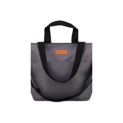 Duża torba Miss Szoperka 2 - dark grey. Szare torebki klasyczne damskie Mili-tu, z tkaniny, duże. Za 199,00 zł.