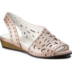Rzymianki damskie: Sandały LANQIER – 42C0627 Pink