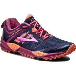 Buty do biegania damskie: Buty BROOKS - Cascadia 11 120204 1B 451 Peacoat/Batonrouge/Fusioncoral