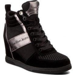 Sneakersy damskie: Sneakersy CALVIN KLEIN JEANS - Beth R0648 Black/Pewter