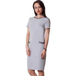 Sukienki hiszpanki: Sukienka w kolorze szarym