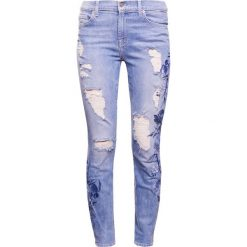 Rurki damskie: 7 for all mankind Jeans Skinny Fit blue