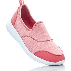 Buty do koszykówki damskie: Buty sportowe wsuwane bonprix biało-koralowy
