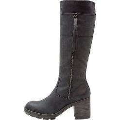 S.Oliver RED LABEL Kozaki black. Czarne buty zimowe damskie marki s.Oliver RED LABEL, z materiału. W wyprzedaży za 251,30 zł.