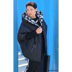 KURTKA/ PELERYNA Damska z kapturem czarna. Brązowe kurtki damskie zimowe marki QUECHUA, m, z materiału. Za 599,00 zł.