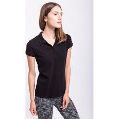 Bluzki sportowe damskie: Koszulka polo damska TSD051Z – czarny