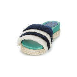 Klapki Miss L'Fire  ZOEY. Niebieskie klapki damskie marki NABAIJI, z kauczuku. Za 351,20 zł.