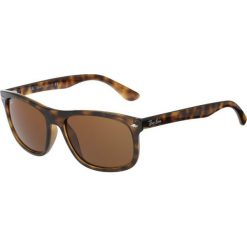 RayBan Okulary przeciwsłoneczne brown. Brązowe okulary przeciwsłoneczne damskie aviatory Ray-Ban. Za 509,00 zł.