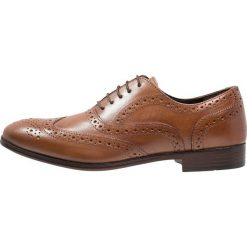 Buty wizytowe męskie: Topman THRONE BROGUE Eleganckie buty tan