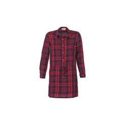 Sukienki krótkie Moony Mood  FOUILOU. Czerwone sukienki mini marki Moony Mood, s, z krótkim rękawem. Za 119,20 zł.