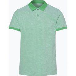 Nils Sundström - Męska koszulka polo, zielony. Zielone koszulki sportowe męskie Nils Sundström, m, z bawełny. Za 129,95 zł.