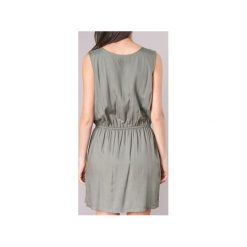 Sukienki krótkie Kaporal  VEKU. Zielone sukienki mini Kaporal, l, z krótkim rękawem. Za 191,20 zł.
