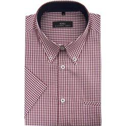 Koszula SERGIO slim 15-01-44. Brązowe koszule męskie na spinki marki QUECHUA, m, z elastanu, z krótkim rękawem. Za 169,00 zł.