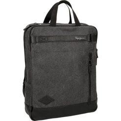 Plecaki męskie: Plecak w kolorze szarym – (S)30 x (W)40 x (G)9 cm