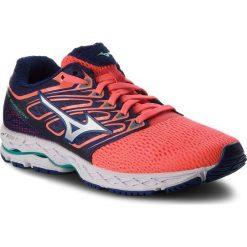 Buty MIZUNO - Wave Shadow J1GD173008  Granatowy Pomarańczowy. Szare buty do biegania damskie marki KALENJI, z gumy. W wyprzedaży za 349,00 zł.