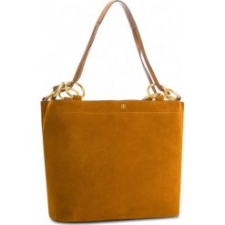 Torebka TORY BURCH - Farrah Tote 48917 Dark Tiramisu. Brązowe torebki klasyczne damskie marki ARTENGO, z materiału. W wyprzedaży za 1469,00 zł.