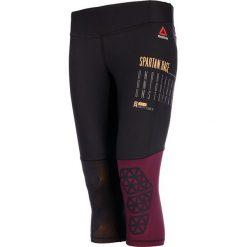 Odzież damska: legginsy do biegania damskie 3/4 REEBOK SPARTAN CAPRI / S99818