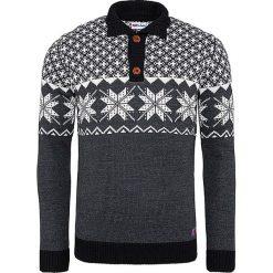 """Golfy męskie: Sweter """"Himal"""" w kolorze czarno-białym"""