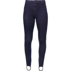 J Brand MARIA HIGH RISE Jegginsy cimmerian. Szare legginsy marki J Brand, z bawełny. W wyprzedaży za 868,45 zł.