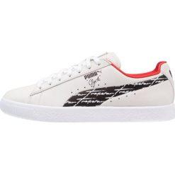 Puma CLYDE TRAPSTAR Tenisówki i Trampki white/black. Szare tenisówki męskie Puma, z materiału. W wyprzedaży za 314,25 zł.