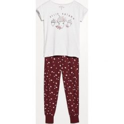 Piżama ze spodniami - Jasny szar. Czarne piżamy damskie marki Reserved, l. Za 99,99 zł.