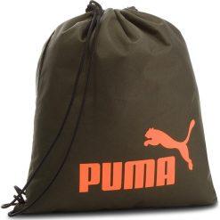 Plecak PUMA - Phase Gym Back 074943 05 Forest Night. Zielone plecaki męskie Puma, z materiału. Za 49,00 zł.