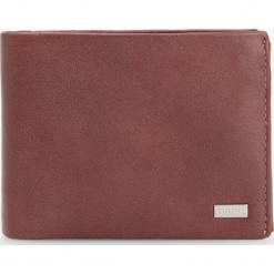 Skórzany portfel - Beżowy. Czarne portfele męskie marki House. Za 99,99 zł.