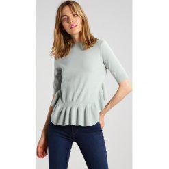 T-shirty damskie: YAS YASSKY Tshirt z nadrukiem sky gray