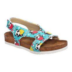 Sandały damskie: Sandały w kolorze turkusowym