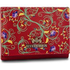 Mały Portfel Damski WITTCHEN - 14-1S-913-3X Red. Czerwone portfele damskie Wittchen, ze skóry. Za 199,00 zł.