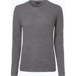 Franco Callegari - Damski sweter z wełny merino, szary. Zielone swetry klasyczne damskie marki Franco Callegari, z napisami. Za 249,95 zł.