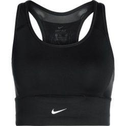 Biustonosze sportowe: Nike Performance SWOOSH POCKET BRA Biustonosz sportowy black/black/white
