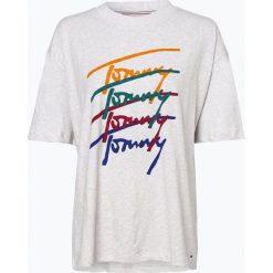 Tommy Jeans - T-shirt damski, czarny. Czarne t-shirty damskie Tommy Jeans, s, z nadrukiem, z jeansu. Za 199,95 zł.