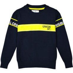 Odzież chłopięca: Sweter z okrągłym dekoltem 3-12 lat