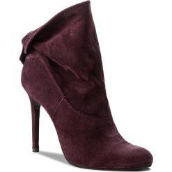 Botki BADURA - 7600-69-L Fiolet 1051. Fioletowe buty zimowe damskie Badura, ze skóry. W wyprzedaży za 309,00 zł.
