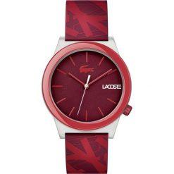 Lacoste - Zegarek 2010933. Czerwone zegarki męskie Lacoste, szklane. Za 399,90 zł.